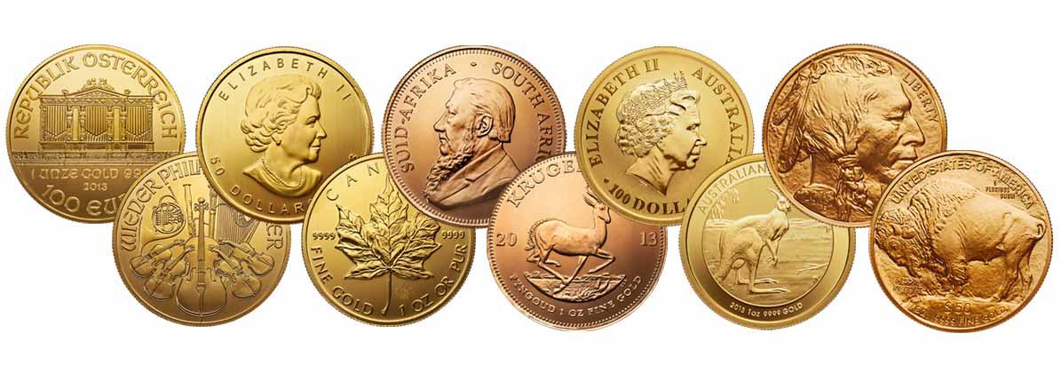 Wiener Philharmoniker Goldmünze, Krügerrand und mehr