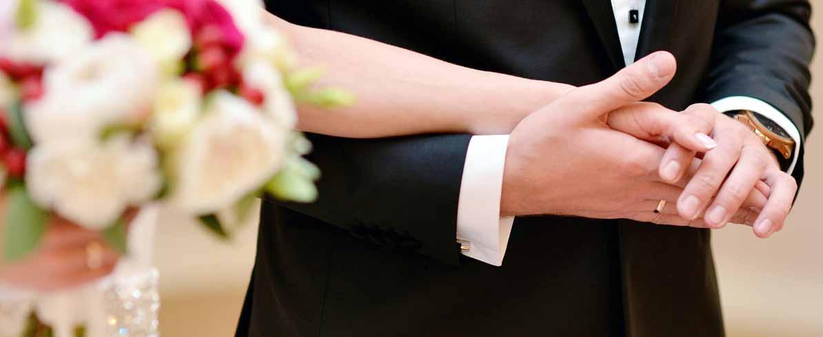 Paar, Verlobung, Trauring